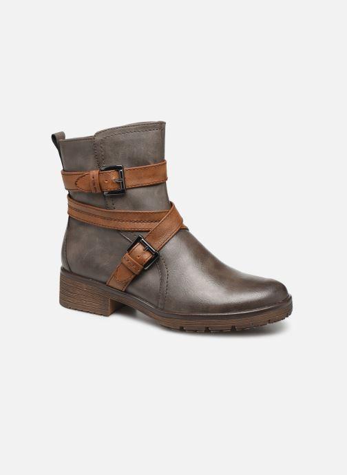 Boots en enkellaarsjes Jana shoes SIDONIE Bruin detail