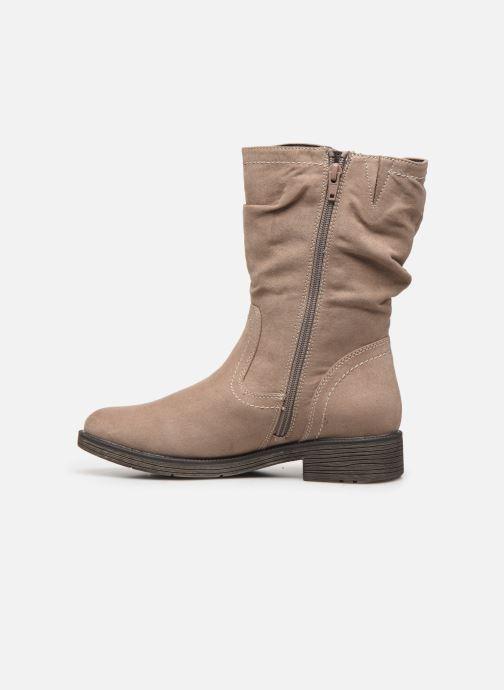 Bottes Jana shoes SUSINA NEW Beige vue face