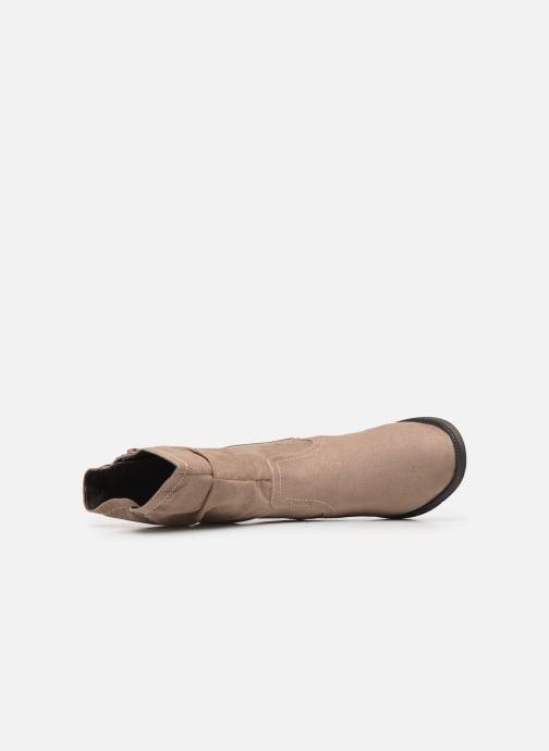 Botas Jana shoes SUSINA NEW Beige vista lateral izquierda