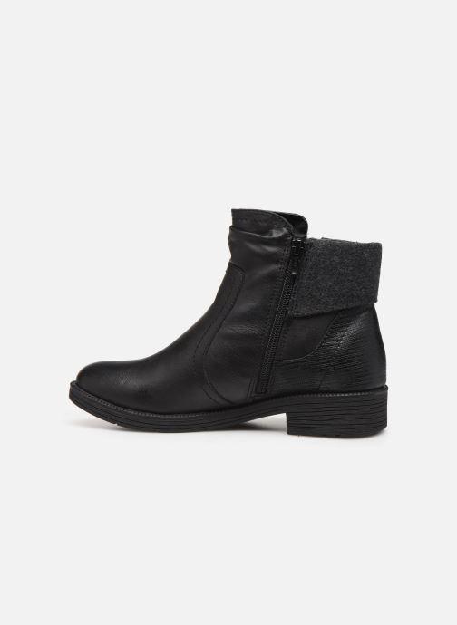 Boots en enkellaarsjes Jana shoes LORETTA NEW Zwart voorkant