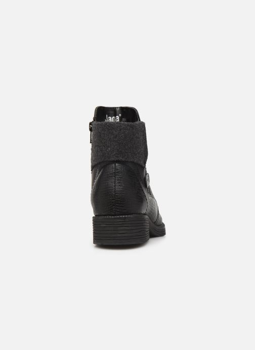 Bottines et boots Jana shoes LORETTA NEW Noir vue droite