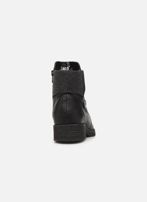 Boots en enkellaarsjes Jana shoes LORETTA NEW Zwart rechts