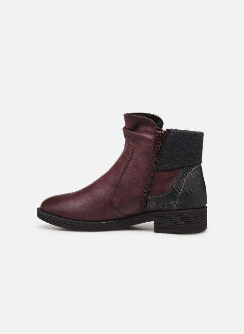 Bottines et boots Jana shoes LORETTA NEW Bordeaux vue face
