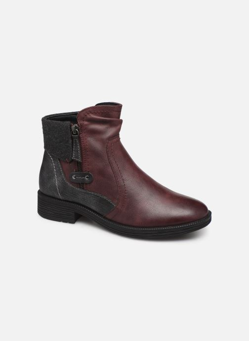 Bottines et boots Jana shoes LORETTA NEW Bordeaux vue détail/paire