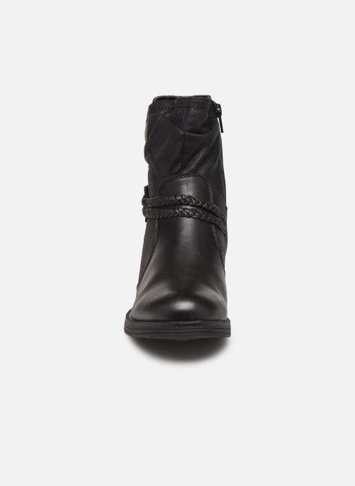 Stivaletti e tronchetti Jana shoes SANDRA NEW Nero modello indossato