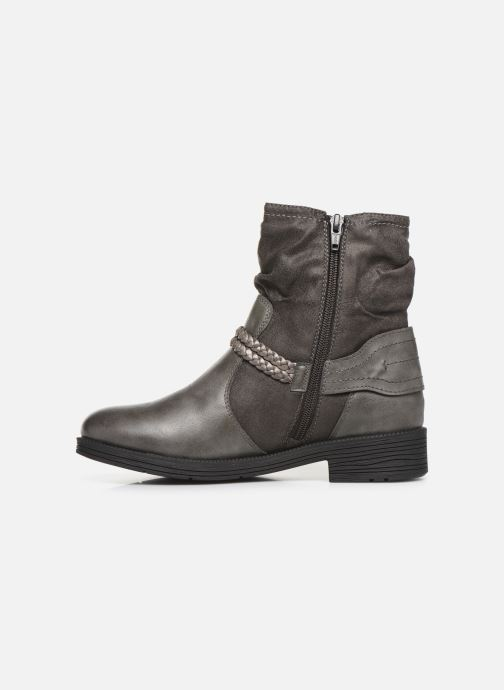 Ankle boots Jana shoes SANDRA NEW Grey front view