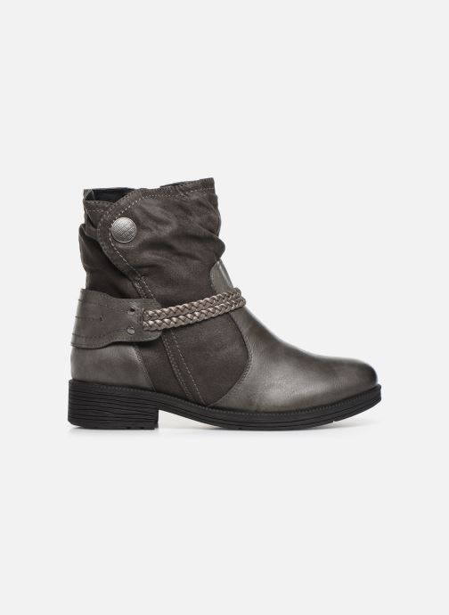 Ankle boots Jana shoes SANDRA NEW Grey back view