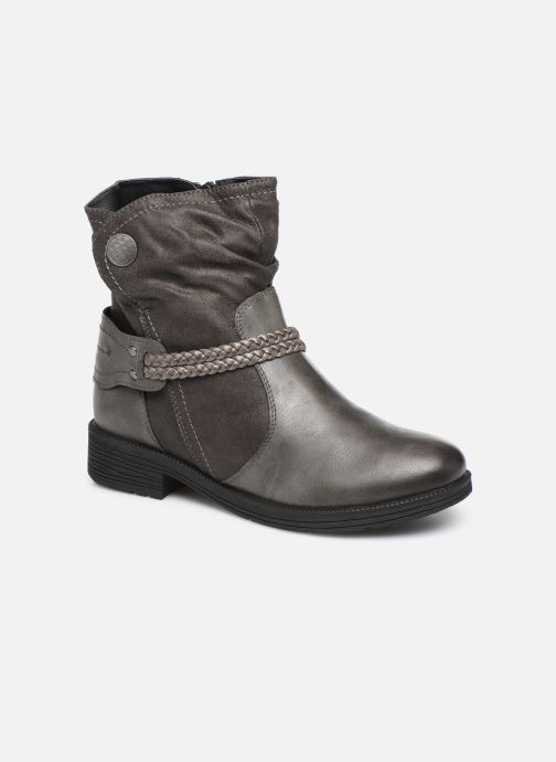 Ankle boots Jana shoes SANDRA NEW Grey detailed view/ Pair view