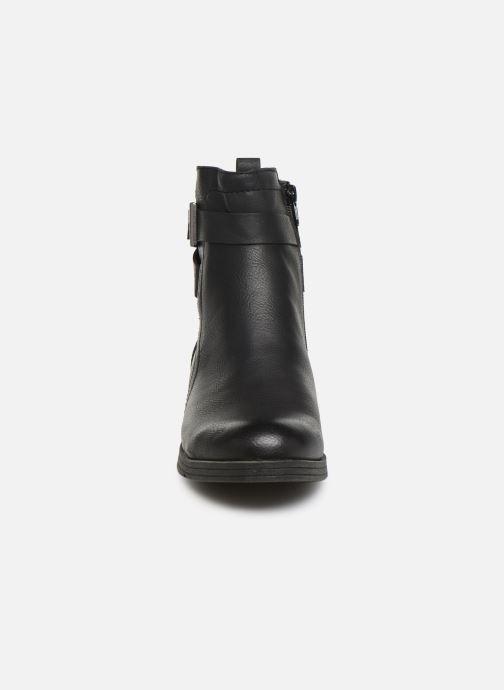 Bottines et boots Jana shoes NELSON Noir vue portées chaussures