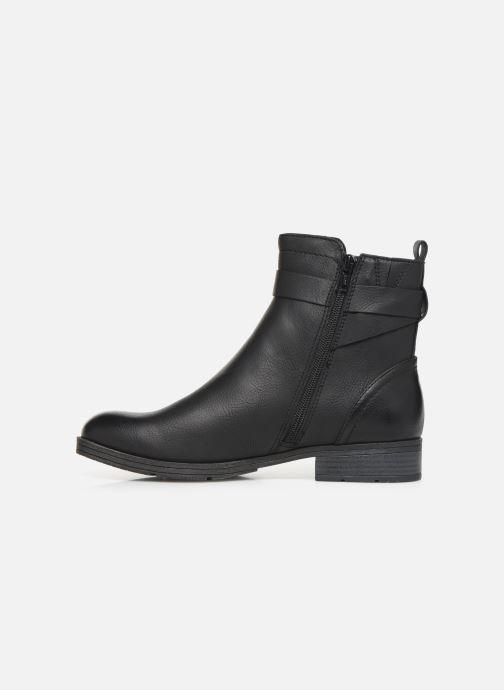 Boots en enkellaarsjes Jana shoes NELSON Zwart voorkant