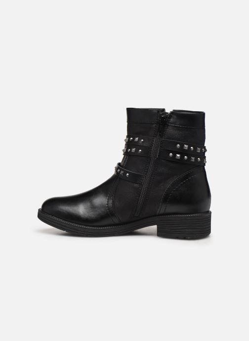 Ankle boots Jana shoes ASTRID Black front view