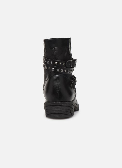 Ankle boots Jana shoes ASTRID Black view from the right