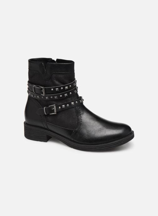 Ankle boots Jana shoes ASTRID Black detailed view/ Pair view