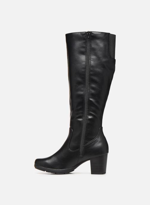 Bottes Jana shoes PAOLA Noir vue face