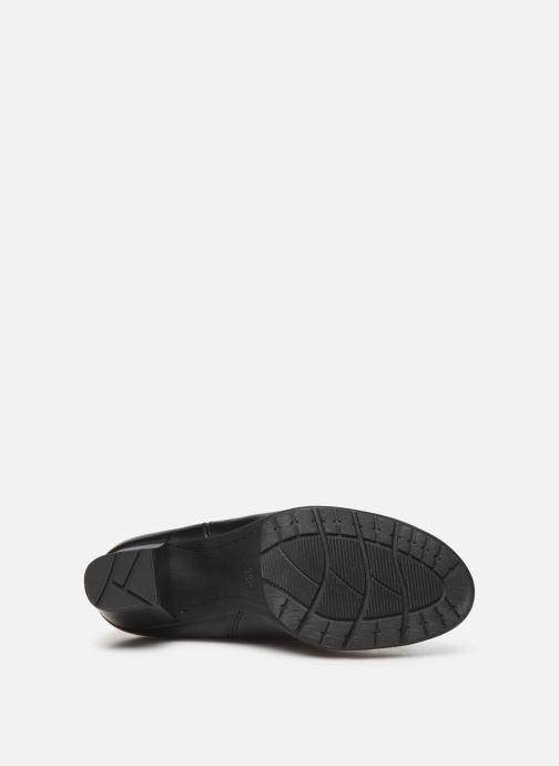 Stiefel Jana shoes PAOLA schwarz ansicht von oben