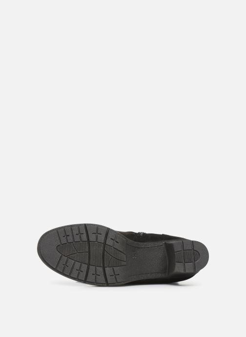 Stiefel Jana shoes MINTO NEW schwarz ansicht von oben
