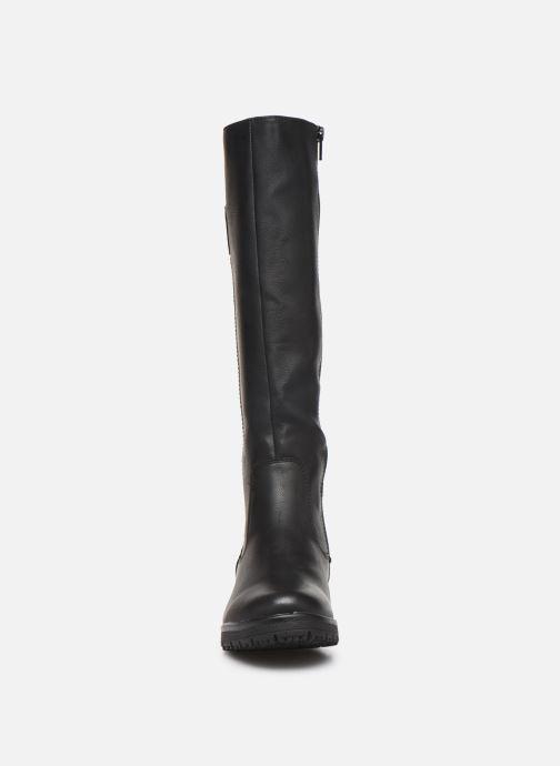 Stivali Jana shoes OCE Nero modello indossato