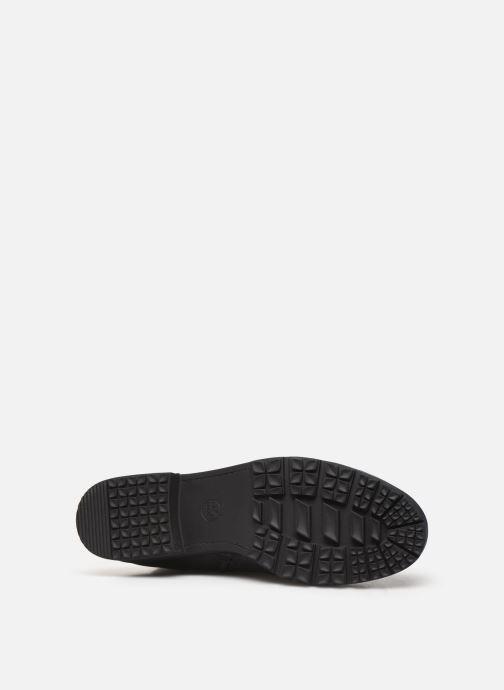 Bottes Jana shoes OCE Noir vue haut