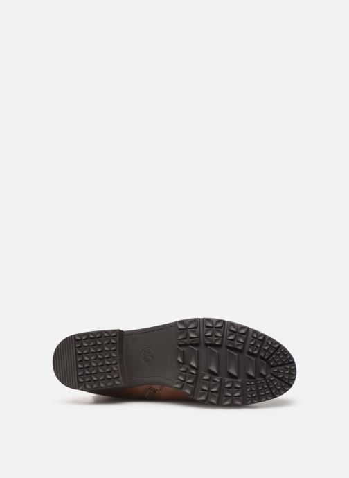 Bottes Jana shoes OCE Marron vue haut