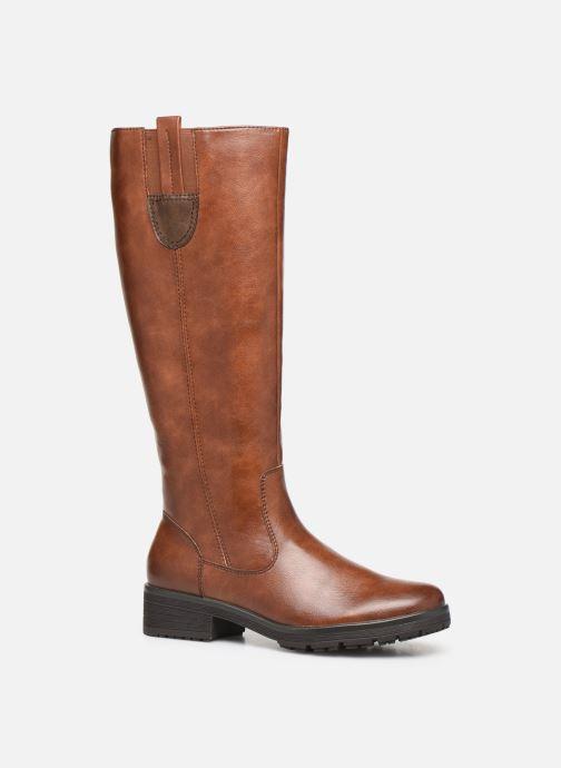 Bottes Jana shoes OCE Marron vue détail/paire