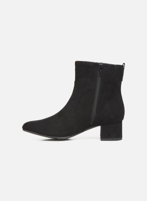 Bottines et boots Jana shoes VIOLAINE Noir vue face