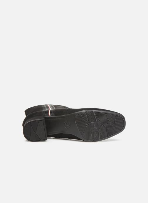 Boots en enkellaarsjes Jana shoes VIOLAINE Zwart boven