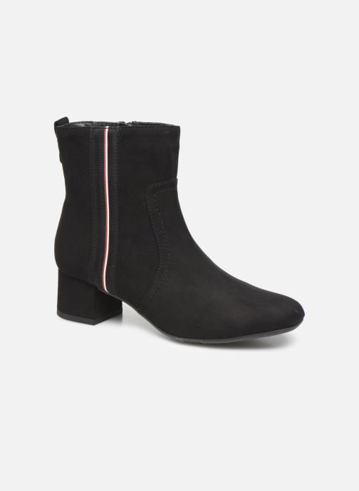 Ankle boots Jana shoes VIOLAINE Black detailed view/ Pair view