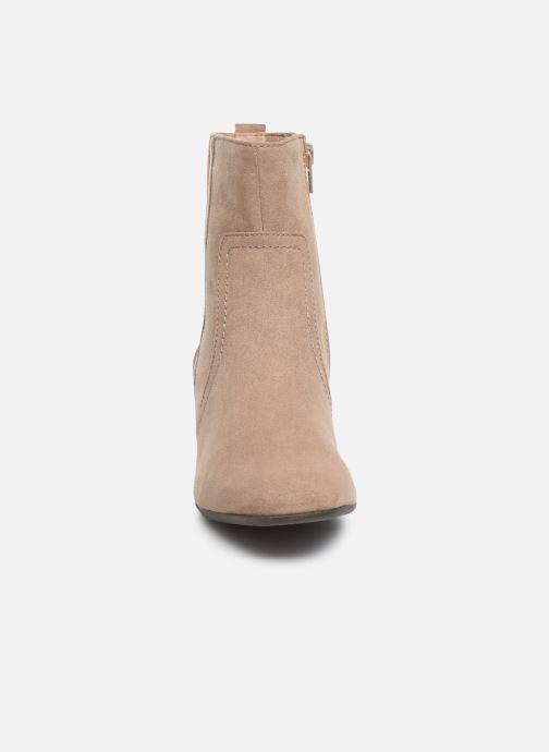 Bottines et boots Jana shoes VIOLAINE Beige vue portées chaussures