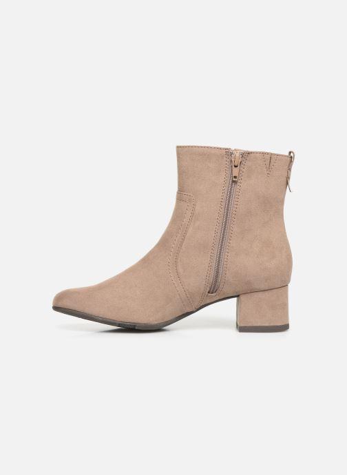 Boots en enkellaarsjes Jana shoes VIOLAINE Beige voorkant