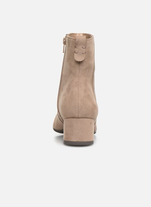 Bottines et boots Jana shoes VIOLAINE Beige vue droite