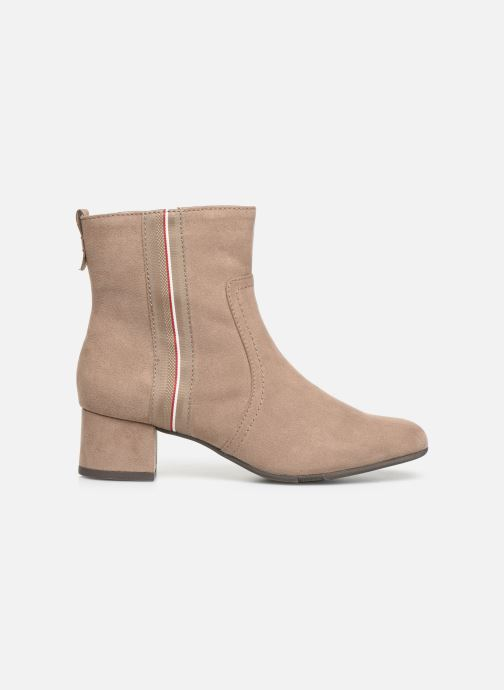 Boots en enkellaarsjes Jana shoes VIOLAINE Beige achterkant
