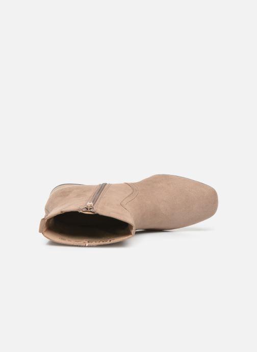 Bottines et boots Jana shoes VIOLAINE Beige vue gauche