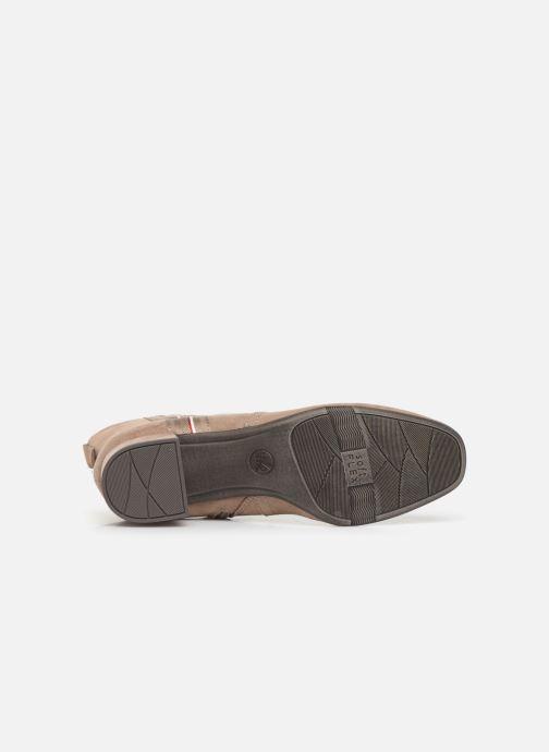 Boots en enkellaarsjes Jana shoes VIOLAINE Beige boven
