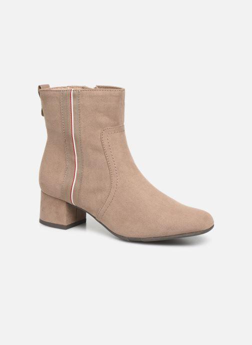Bottines et boots Jana shoes VIOLAINE Beige vue détail/paire