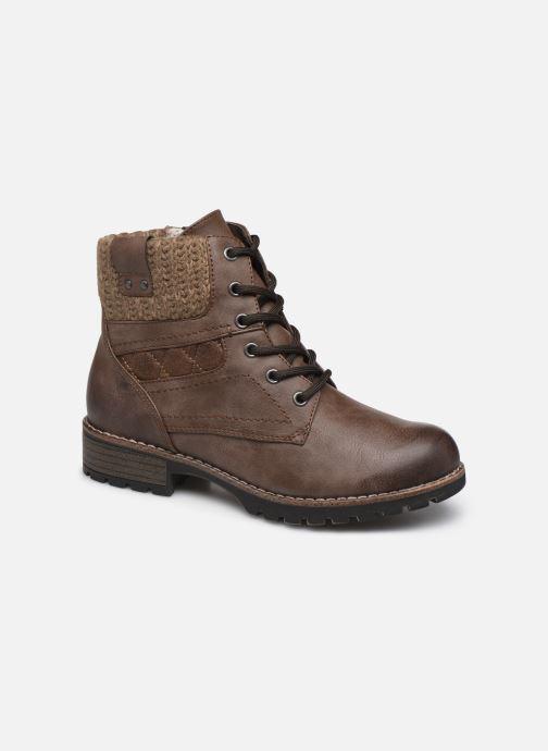 Bottines et boots Jana shoes RAMI NEW Marron vue détail/paire