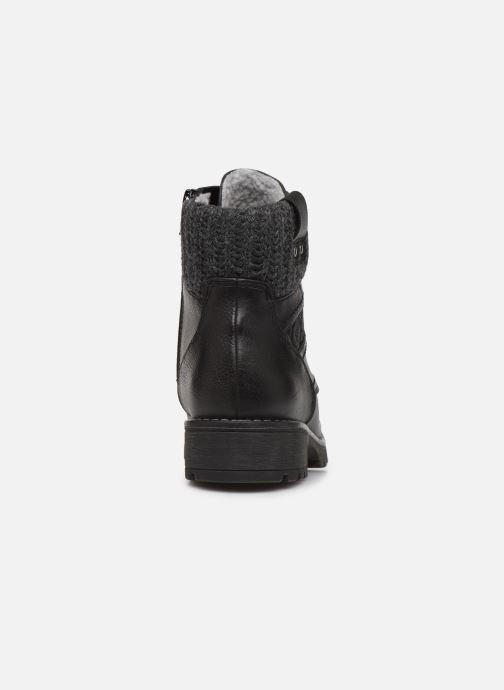 Botines  Jana shoes RAMI NEW Negro vista lateral derecha