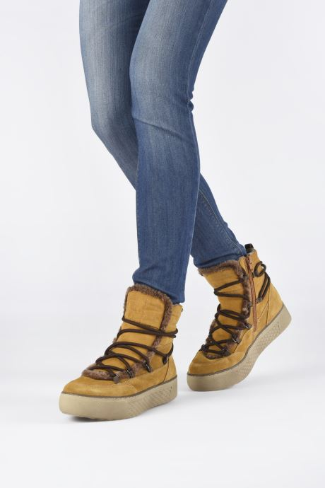 Botines  Jana shoes POCA Marrón vista de abajo