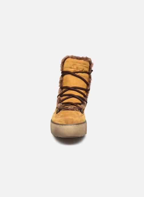 Botines  Jana shoes POCA Marrón vista del modelo