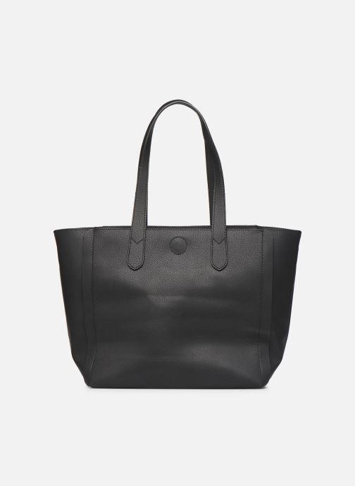 Handtaschen Hexagona NOMAD ZIP schwarz ansicht von vorne