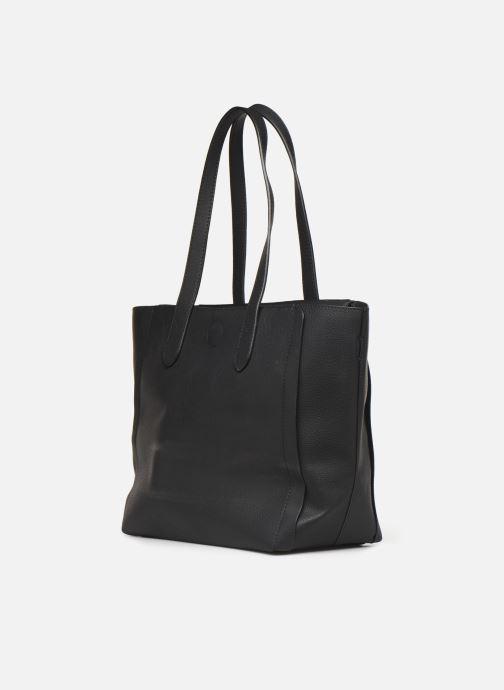 Handtaschen Hexagona NOMAD ZIP schwarz ansicht von rechts
