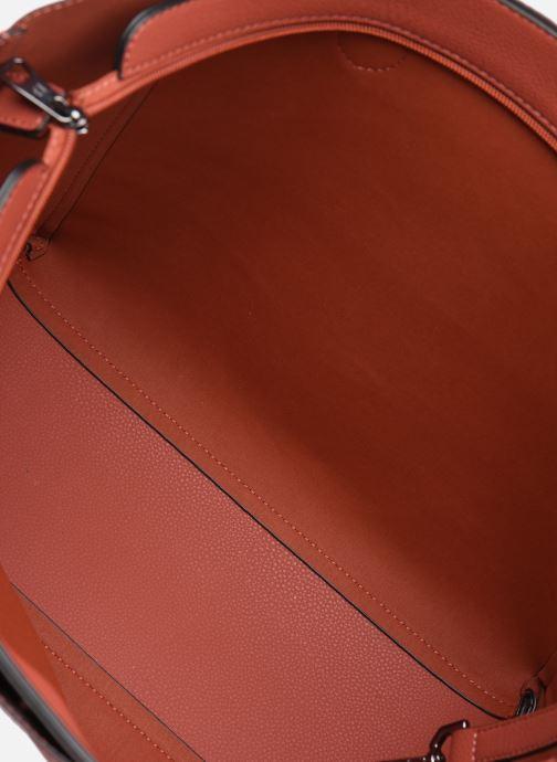 Handtassen Hexagona NOMAD ZIP Rood achterkant