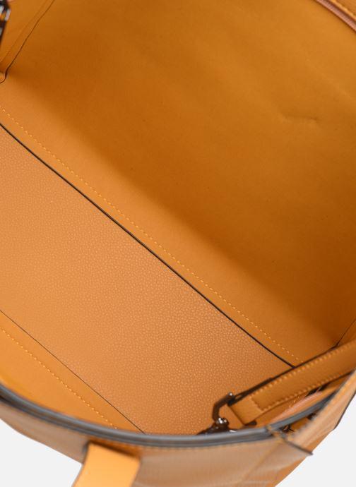 Handtassen Hexagona NOMAD ZIP Geel achterkant