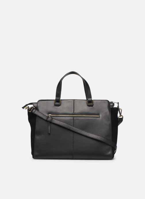 Handtassen Hexagona SUNSHINE CUIR SHOPPING Zwart voorkant