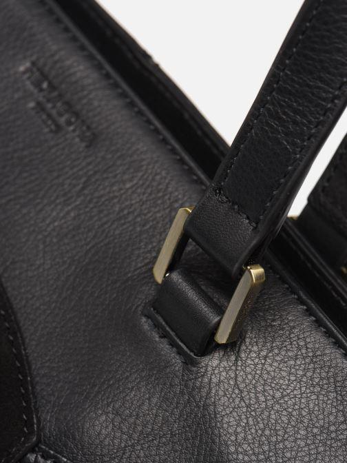 Handtassen Hexagona SUNSHINE CUIR SHOPPING Zwart links
