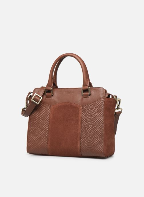 Handtassen Hexagona SUNSHINE CUIR SAC A MAIN Bruin model