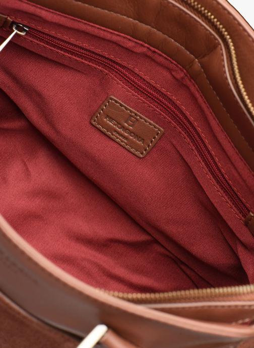 Handtassen Hexagona SUNSHINE CUIR SAC A MAIN Bruin achterkant