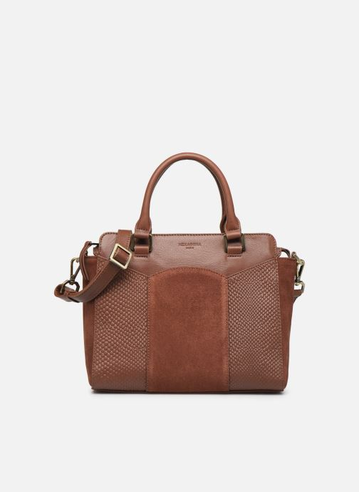 Handtassen Hexagona SUNSHINE CUIR SAC A MAIN Bruin detail