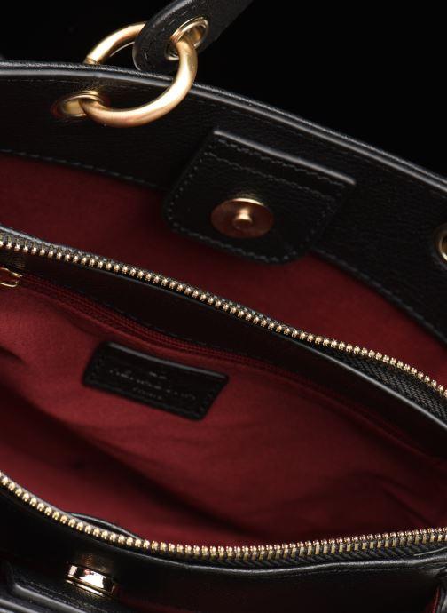 Handtaschen Hexagona DUNE CUIR DOUBLE PORTE schwarz ansicht von hinten