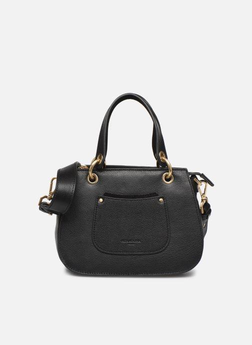 Handtaschen Hexagona DUNE CUIR DOUBLE PORTE schwarz detaillierte ansicht/modell