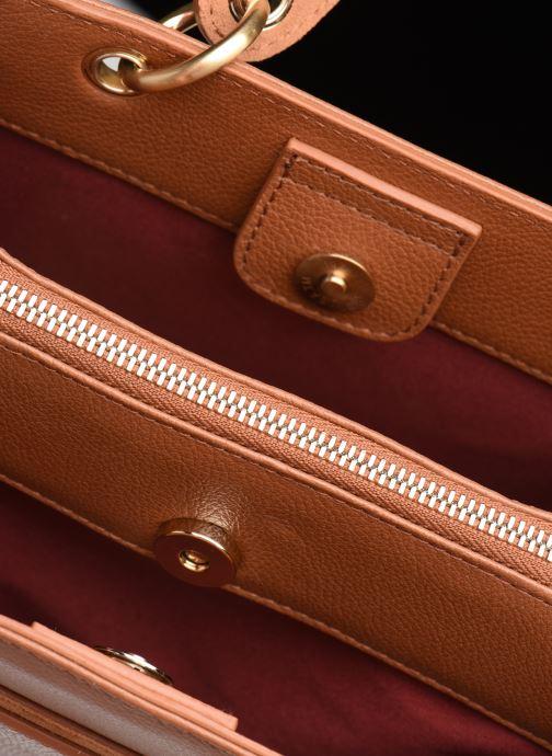 Handtassen Hexagona DUNE CUIR DOUBLE PORTE Bruin achterkant